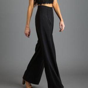 Ann Taylor Black Wool Dress Pants